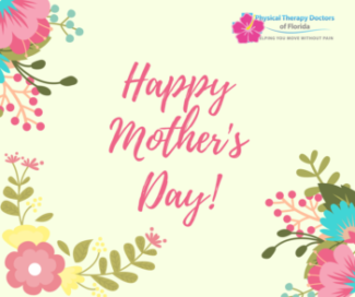 Happy mother's day floral clip art